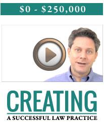 Create a successful law practice
